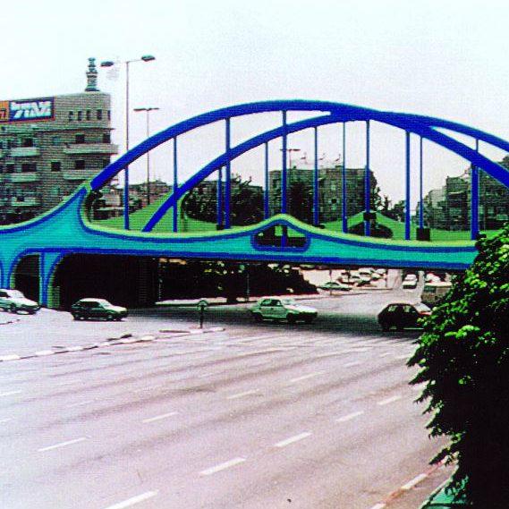 גשר מוצע, מחלף לה גרדיה, תל אביב .jpg1